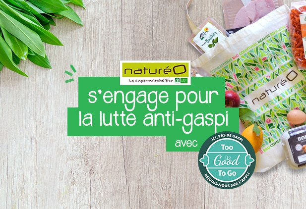 naturéO s'engage pour la lutte anti-gaspi
