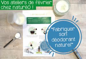 Atelier DIY déodorant  - Abbeville