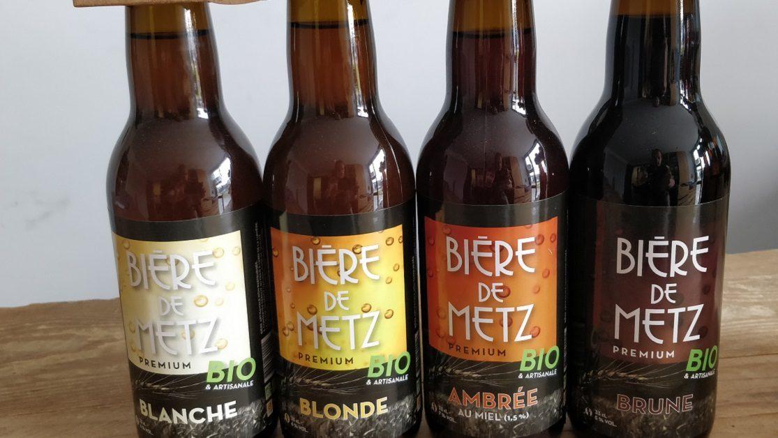 Bière de Metz, la brasserie artisanale bio à proximité de METZ gallerie 3
