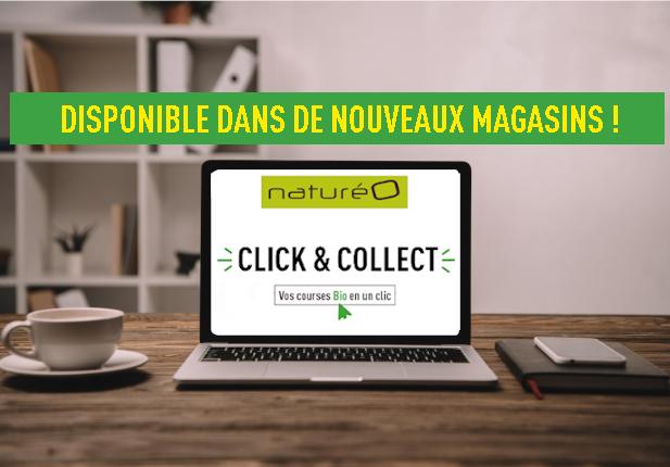 Le Click & Collect dans vos magasins naturéO !