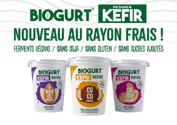 BIOGURT la nouvelle génération de yaourts végans